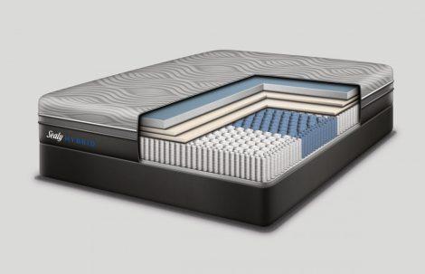 Sealy Majestic Hybrid Matratze mit abnehmbahrem Überzug