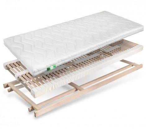 Deluxe Bettsystem mit  Interlux Matratze