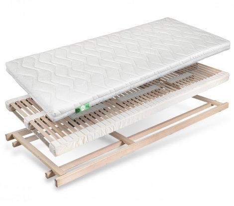 Deluxe Bettsystem mit System-8L Matratze