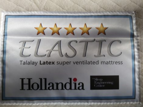 Elastic Organic Cotton Talaly Latex Matratze